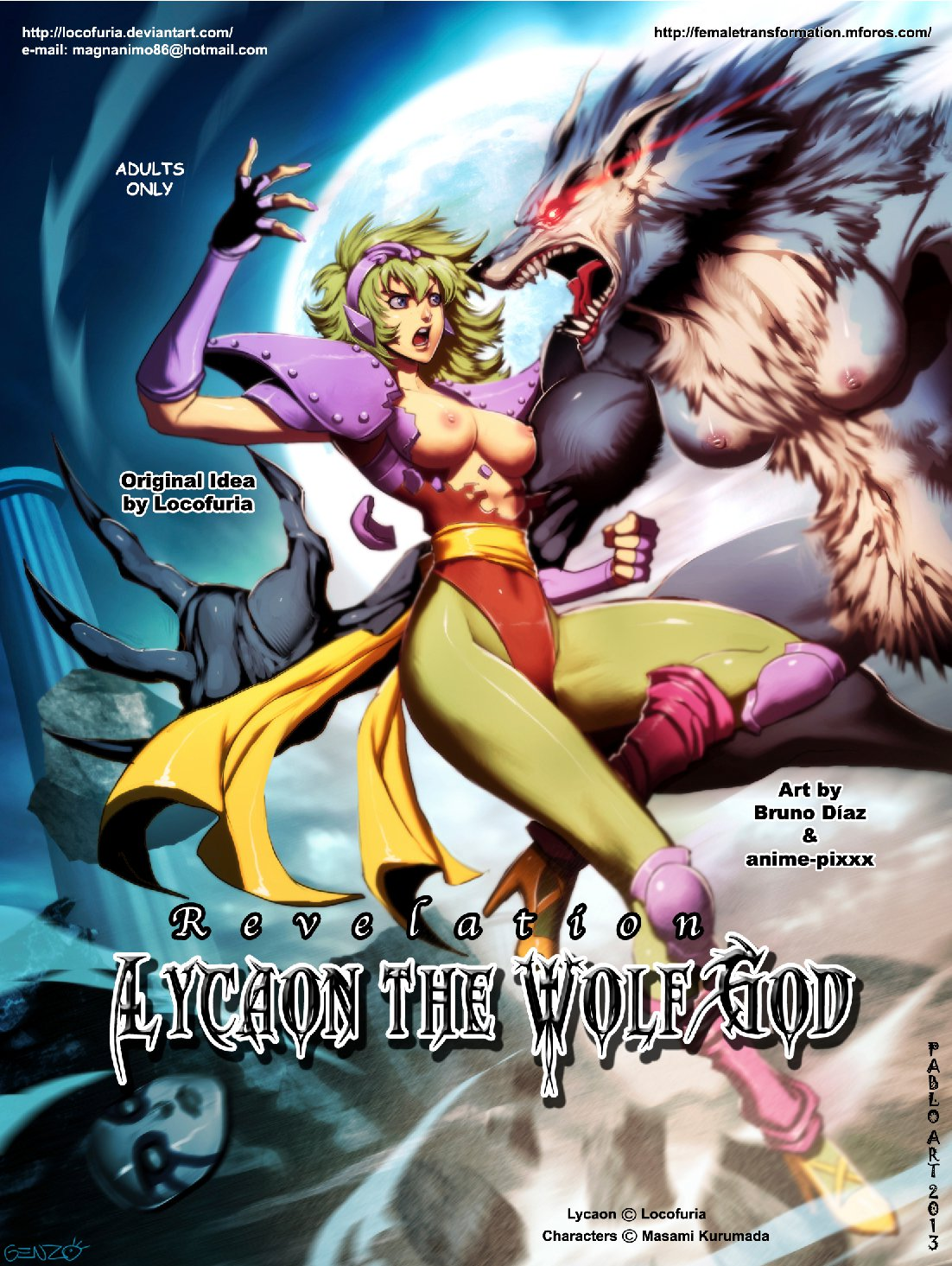 Locofuria lycaon the wolf god hentai online porn manga