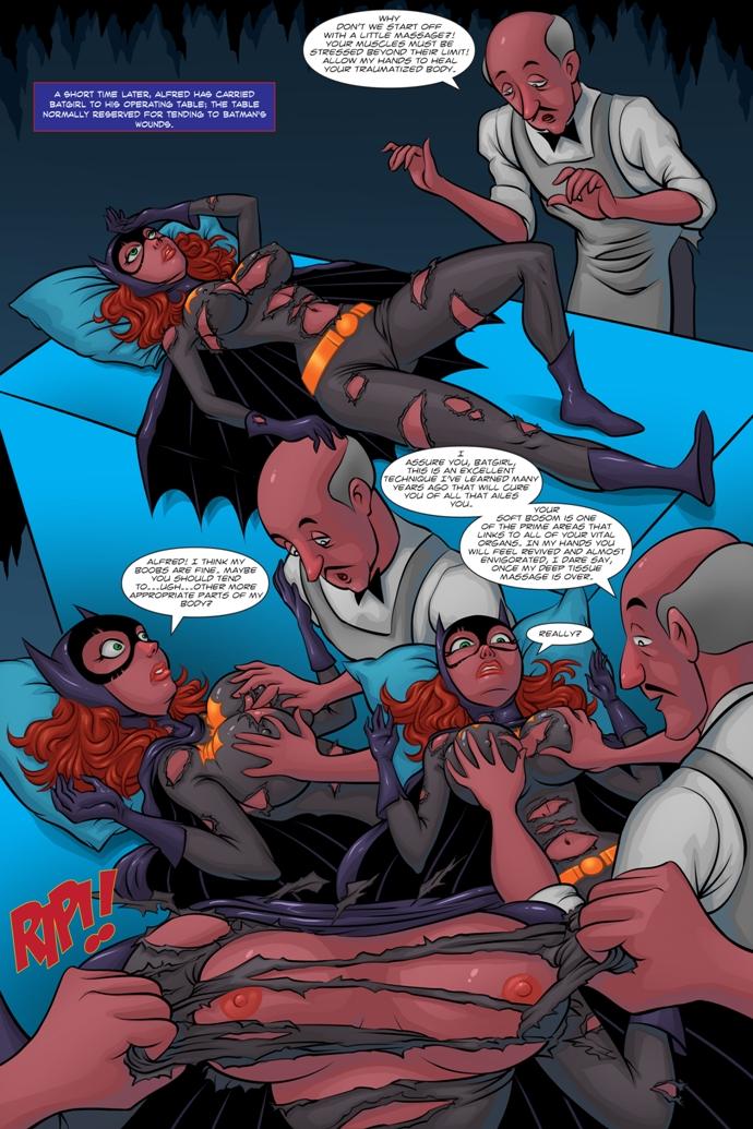 Batgirl hentai comics
