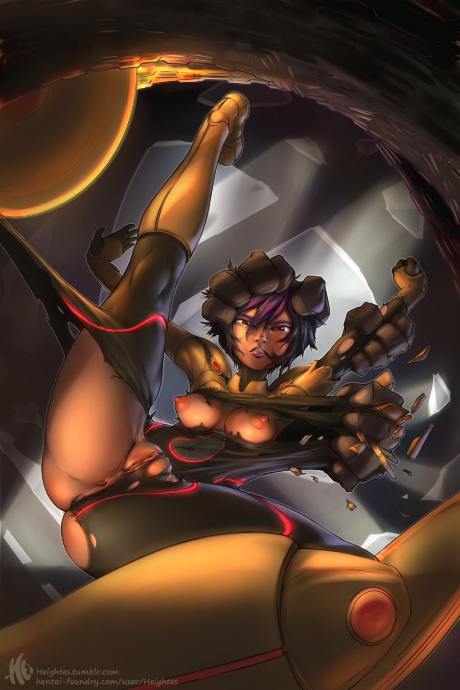 Korean big tits nude