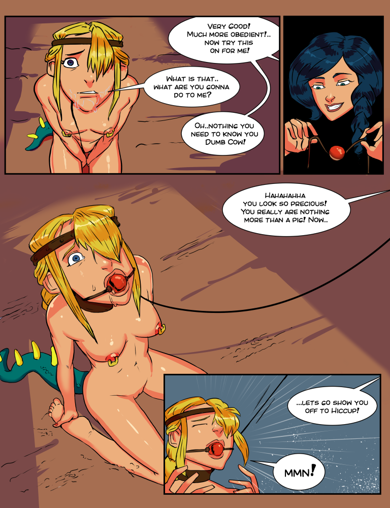 How to train your dragon heather naked