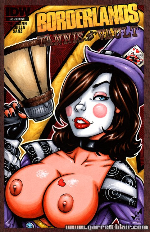 Mad Moxxi Naked