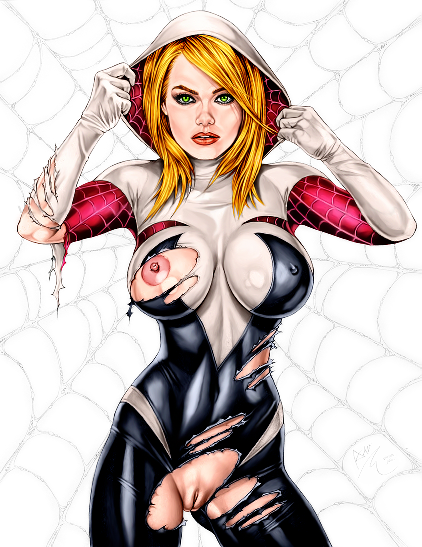 spiderman black cat porn