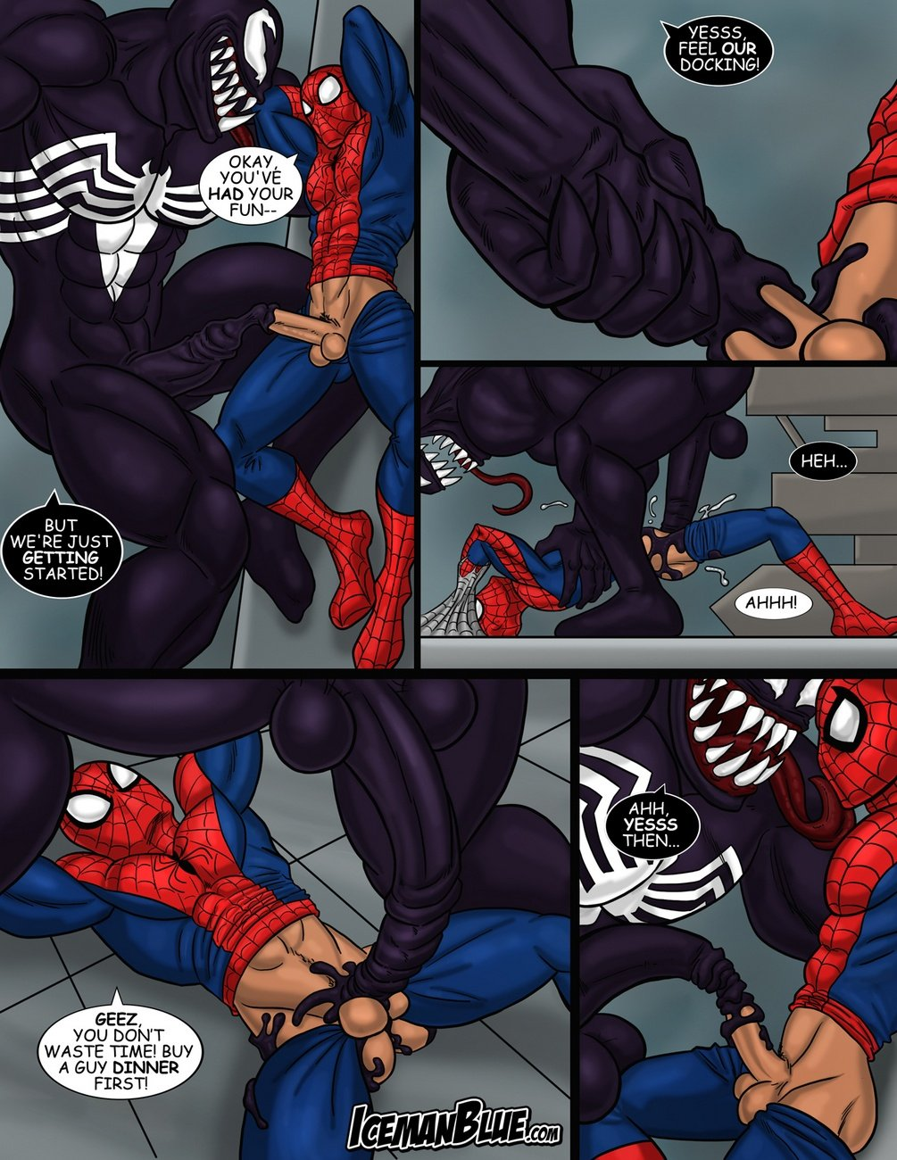 spiderman gay hentai