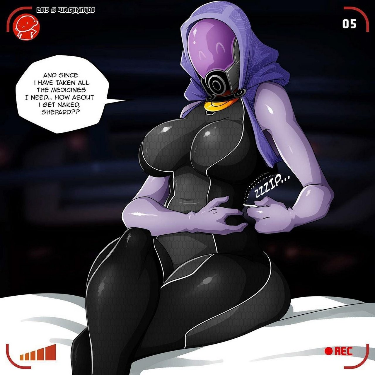 mass effect futanari