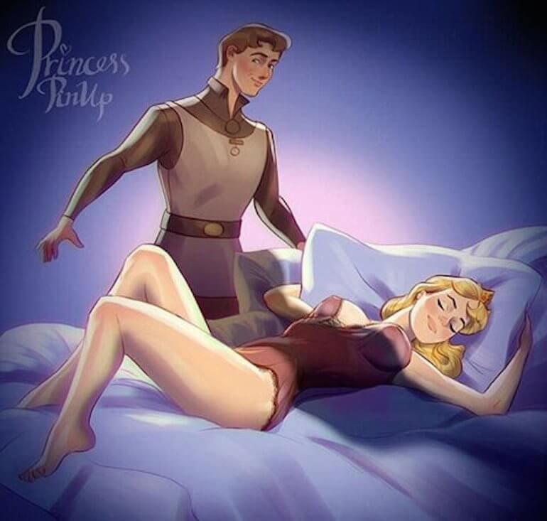 3d Disney Porn Hentai - Disney Princess Pin-Up