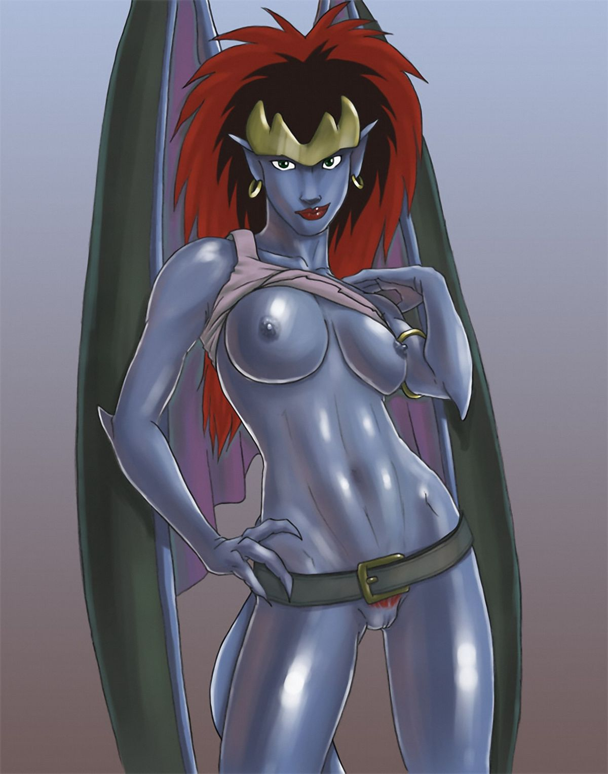 Gargoyles Goliath Cartoon Porno