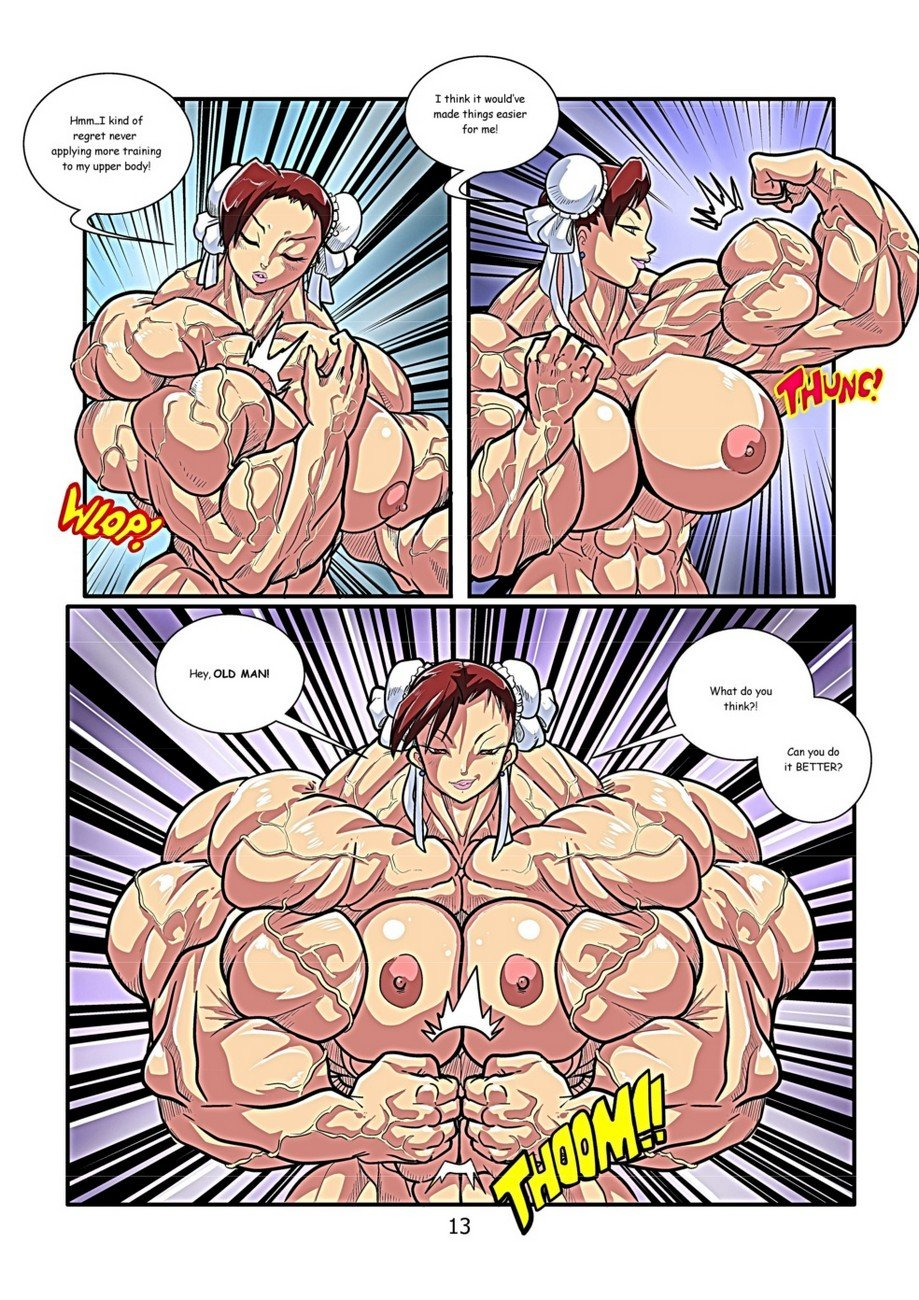 muscle growth e hentai