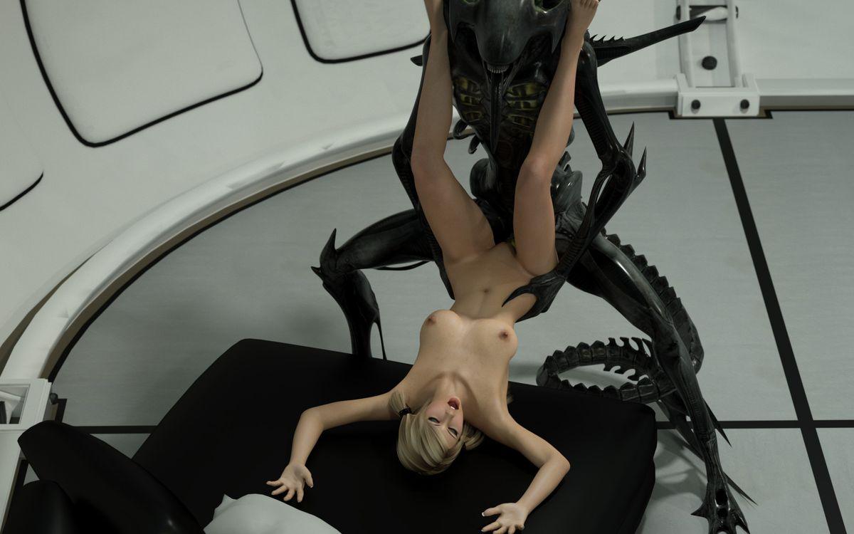 alien 3d porn