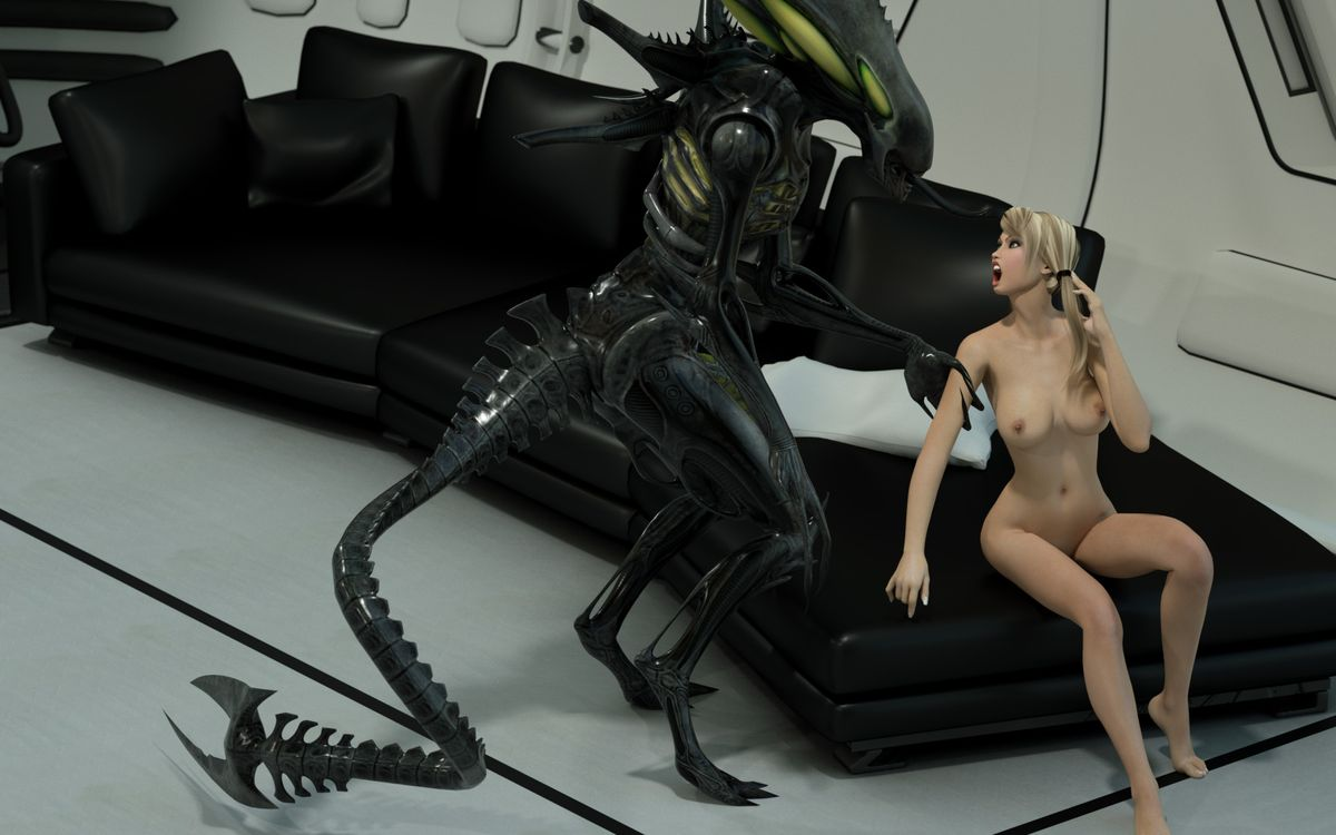 3d alien hentai