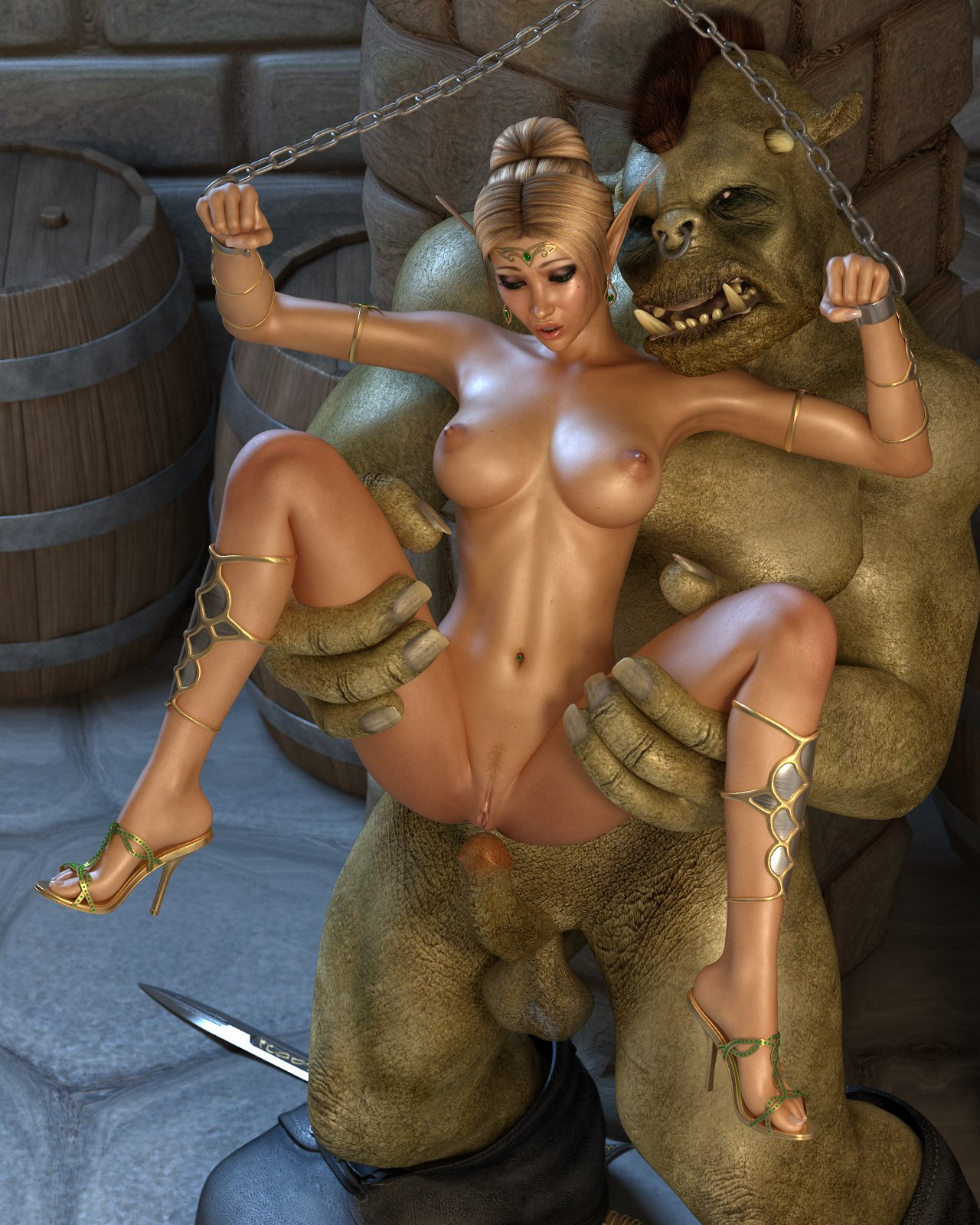 Elf with monster porn anim sex image