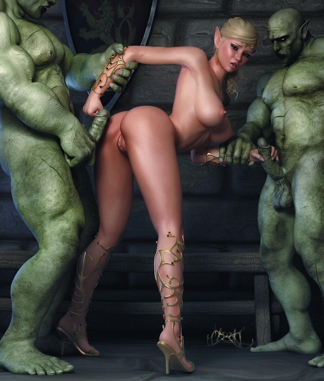 Elven Love Nude