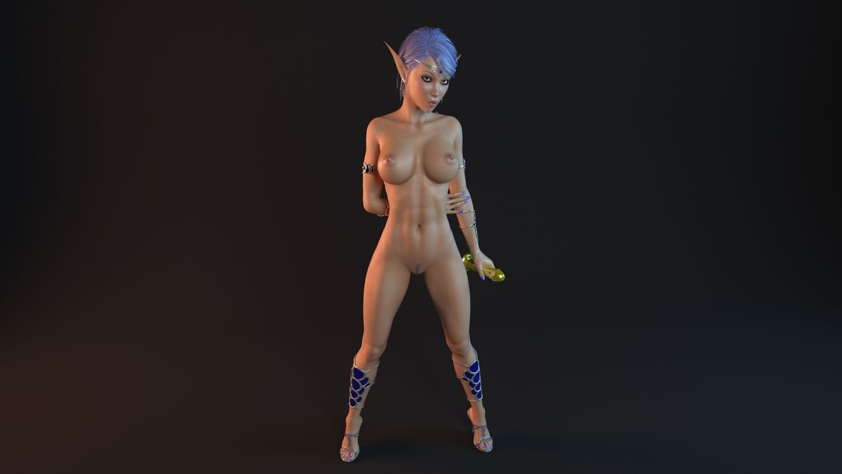 Female action heroes nude butt