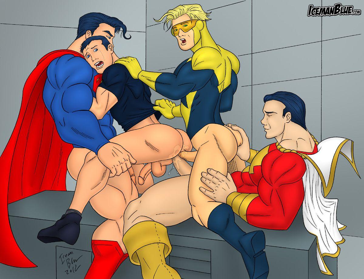 Зона обмена американские супергерои секс