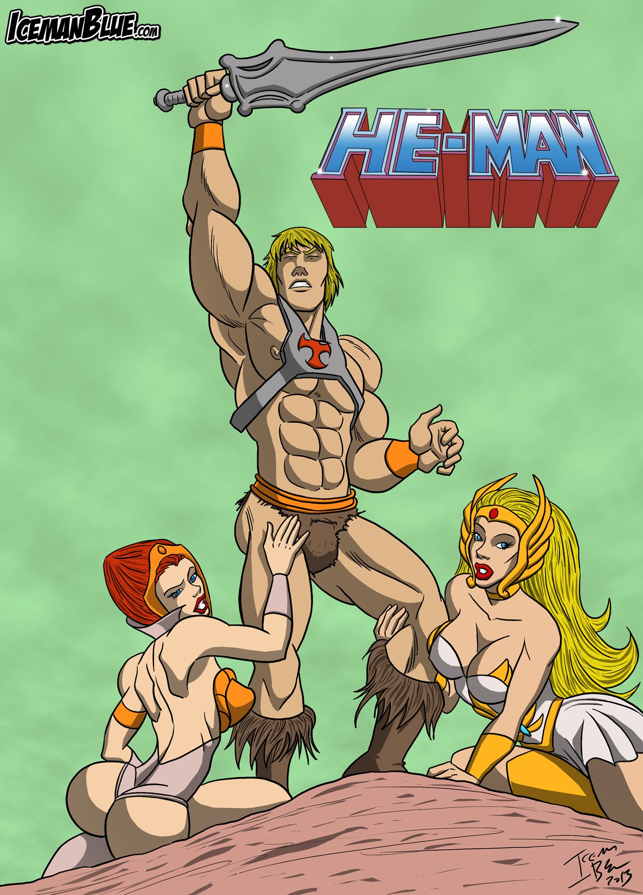 [Iceman Blue] He-Man (He-Man and the Masters of the Universe)