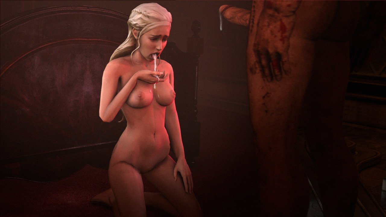 daenerys bj and sex set game of thrones