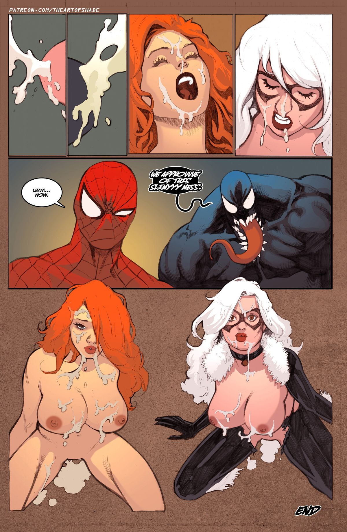 Spiderman Porn