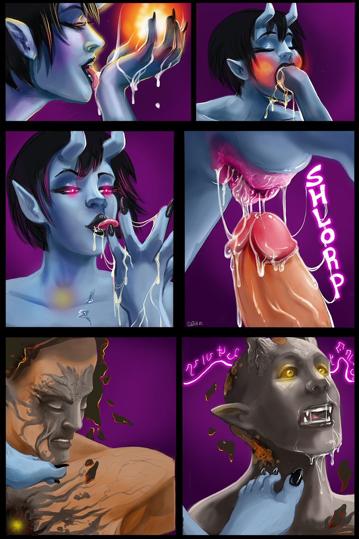 transformed-into-demon-porn