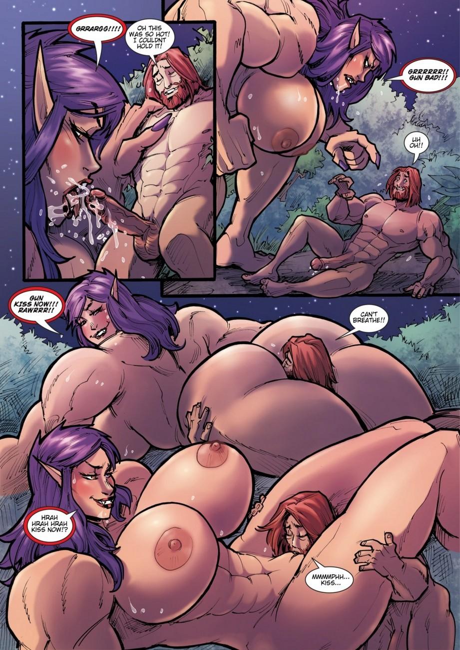 Elf hentai porn