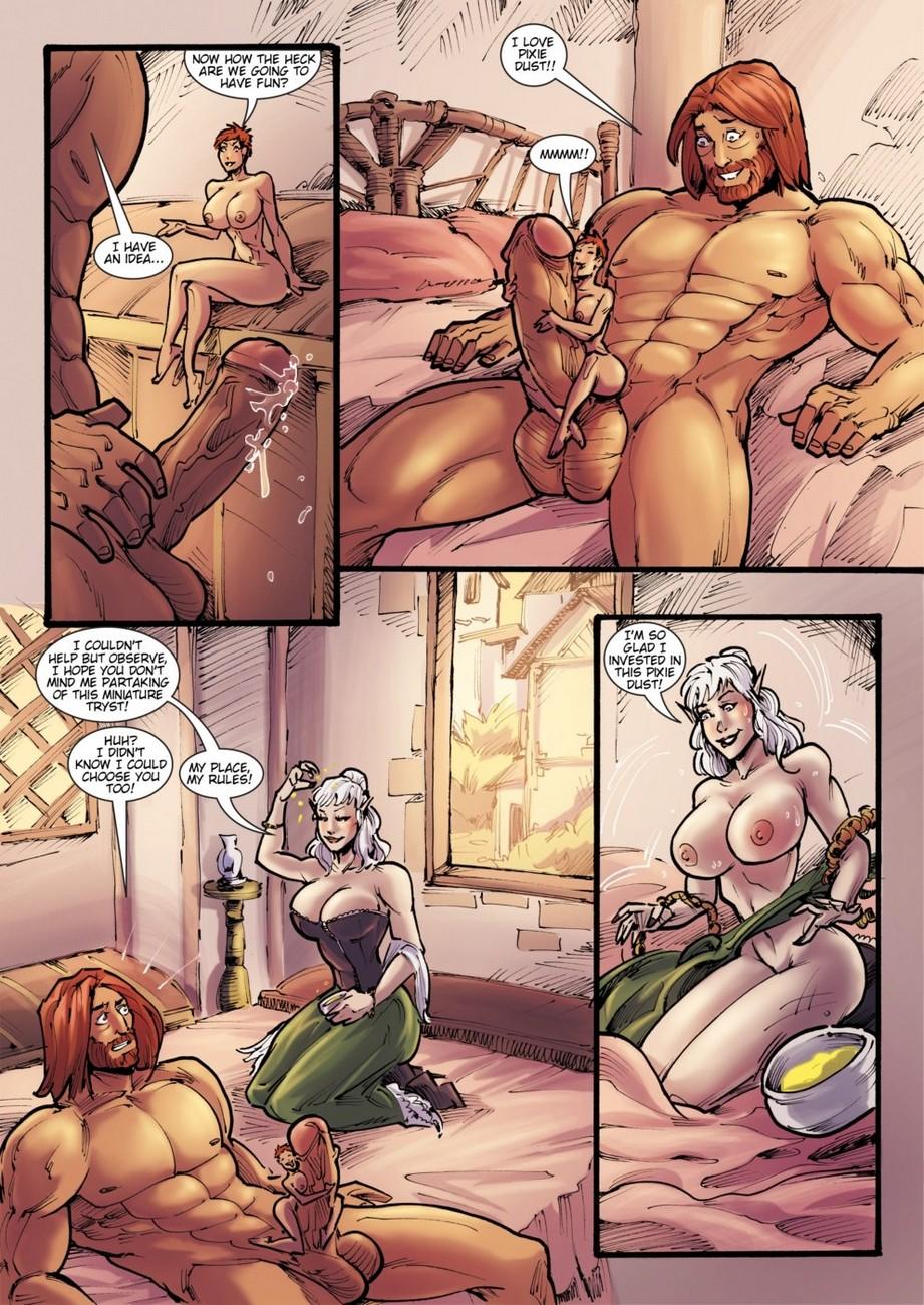 elf porn comics