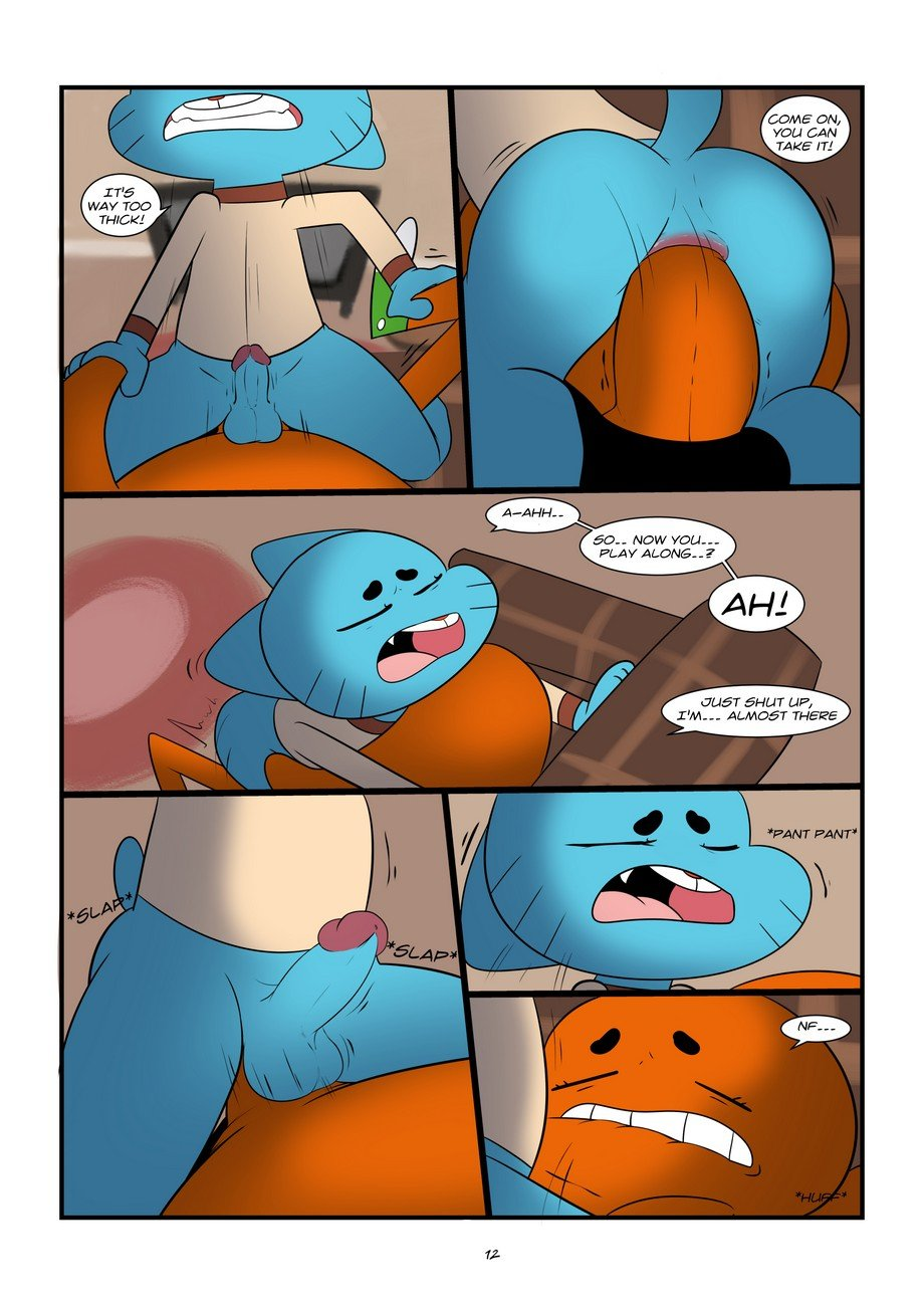 amazing world of gumball porn