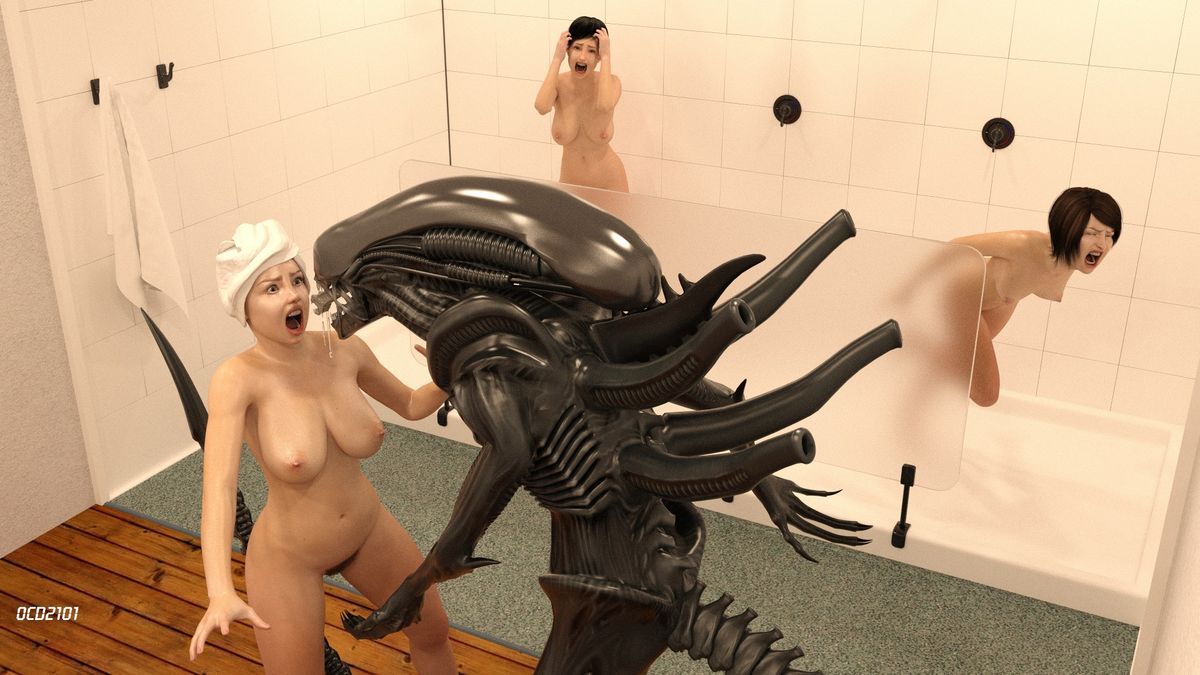 Girl likes being tempted into naked sex by alien