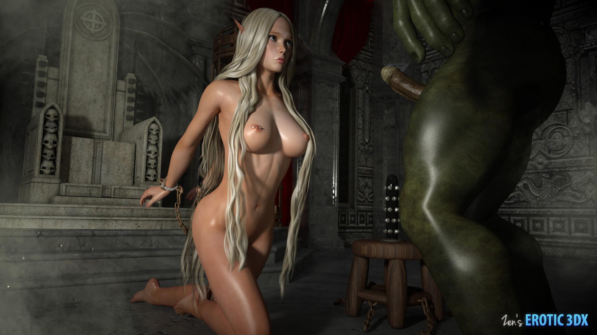 Fantasy erotica elf hentai picture