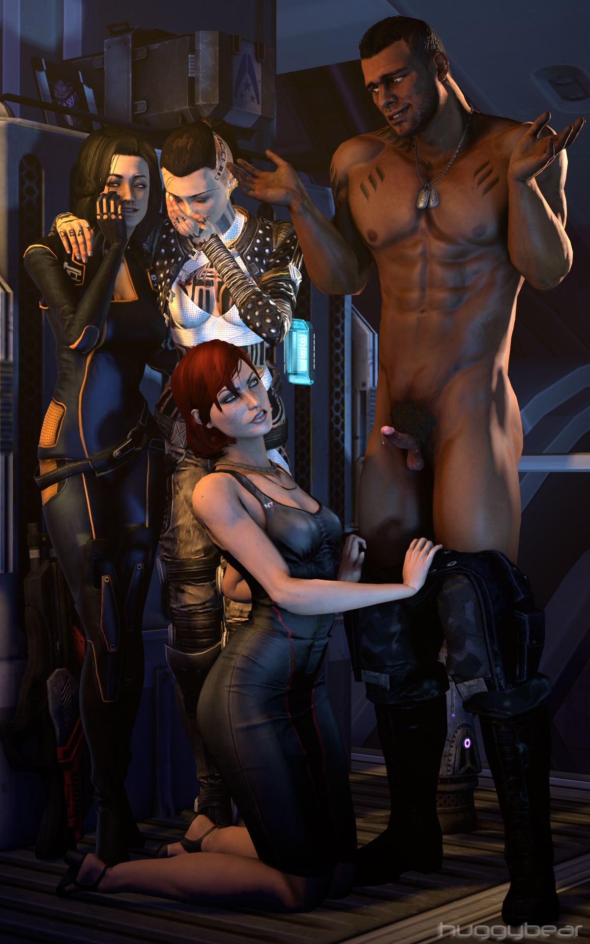Mass effect erotic sex art xxx photo