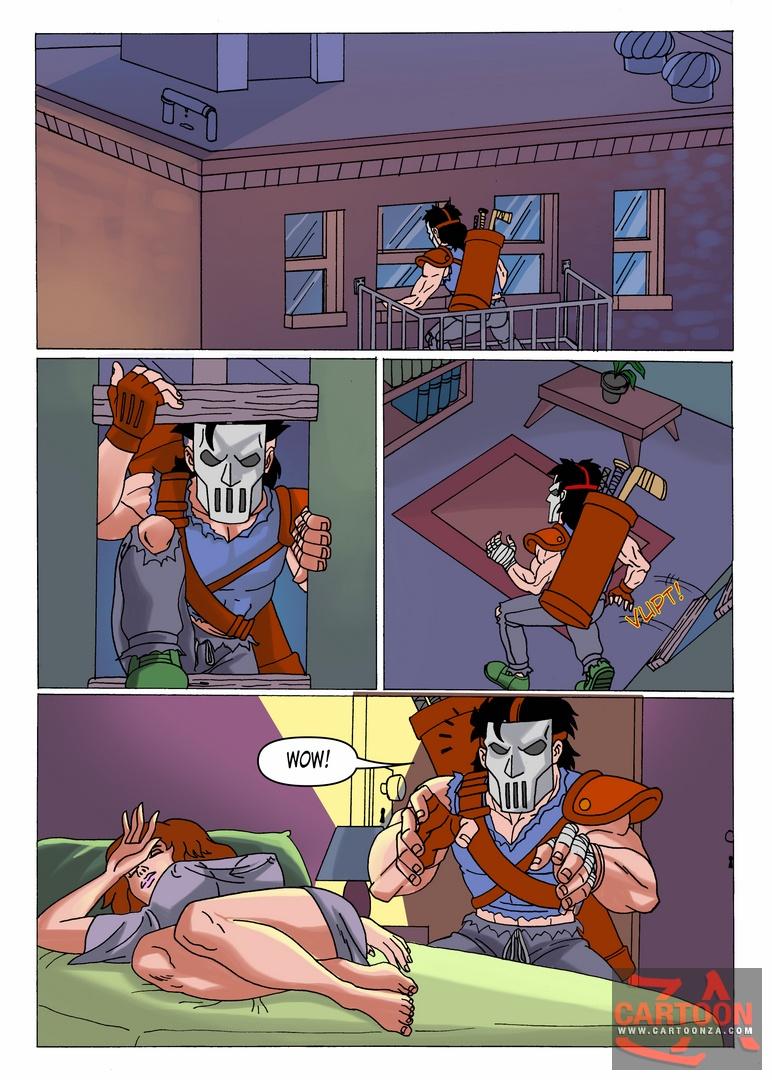 tmnt porno comics