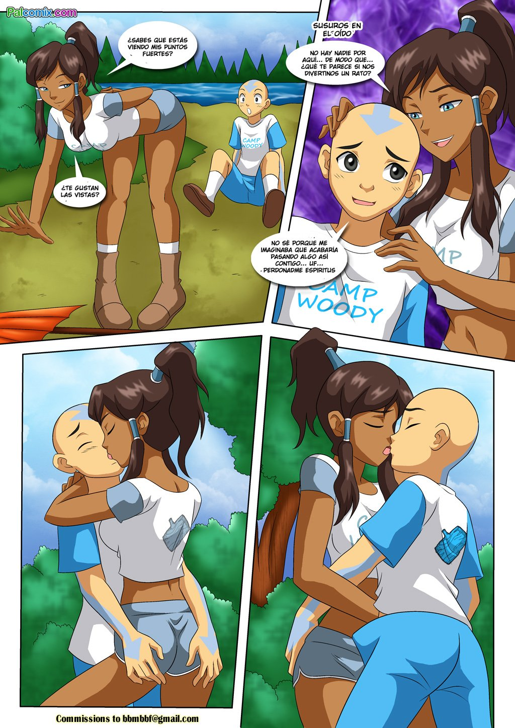 [Palcomix] Camp Woody - Bending Break Beyond (Avatar The ...