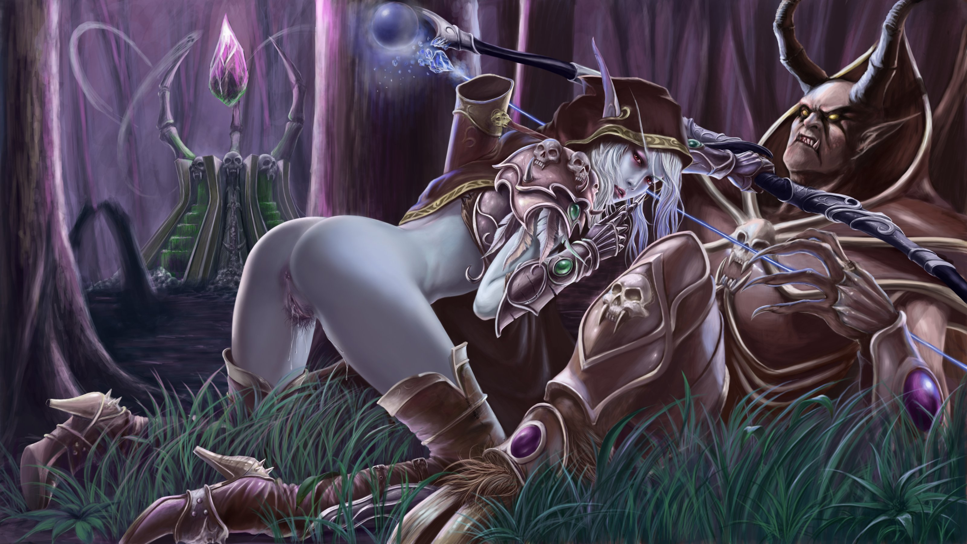 Sylvanas windrunner sex art erotic photos