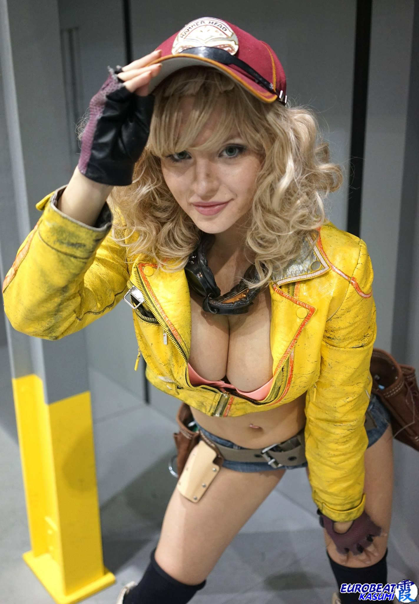 Fantasy bondage cosplay