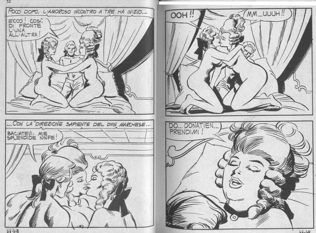 De sade italian femdom comics