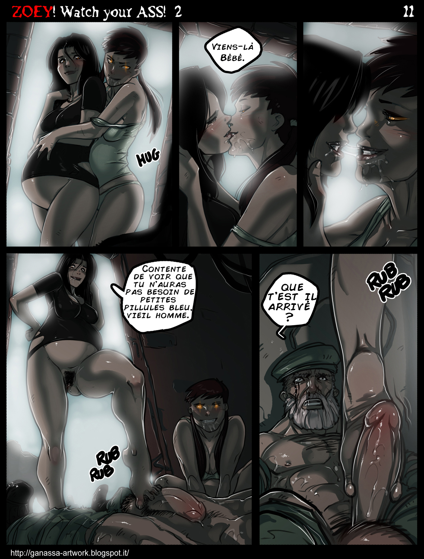 Left 4 deadzoey butt sexy scenes