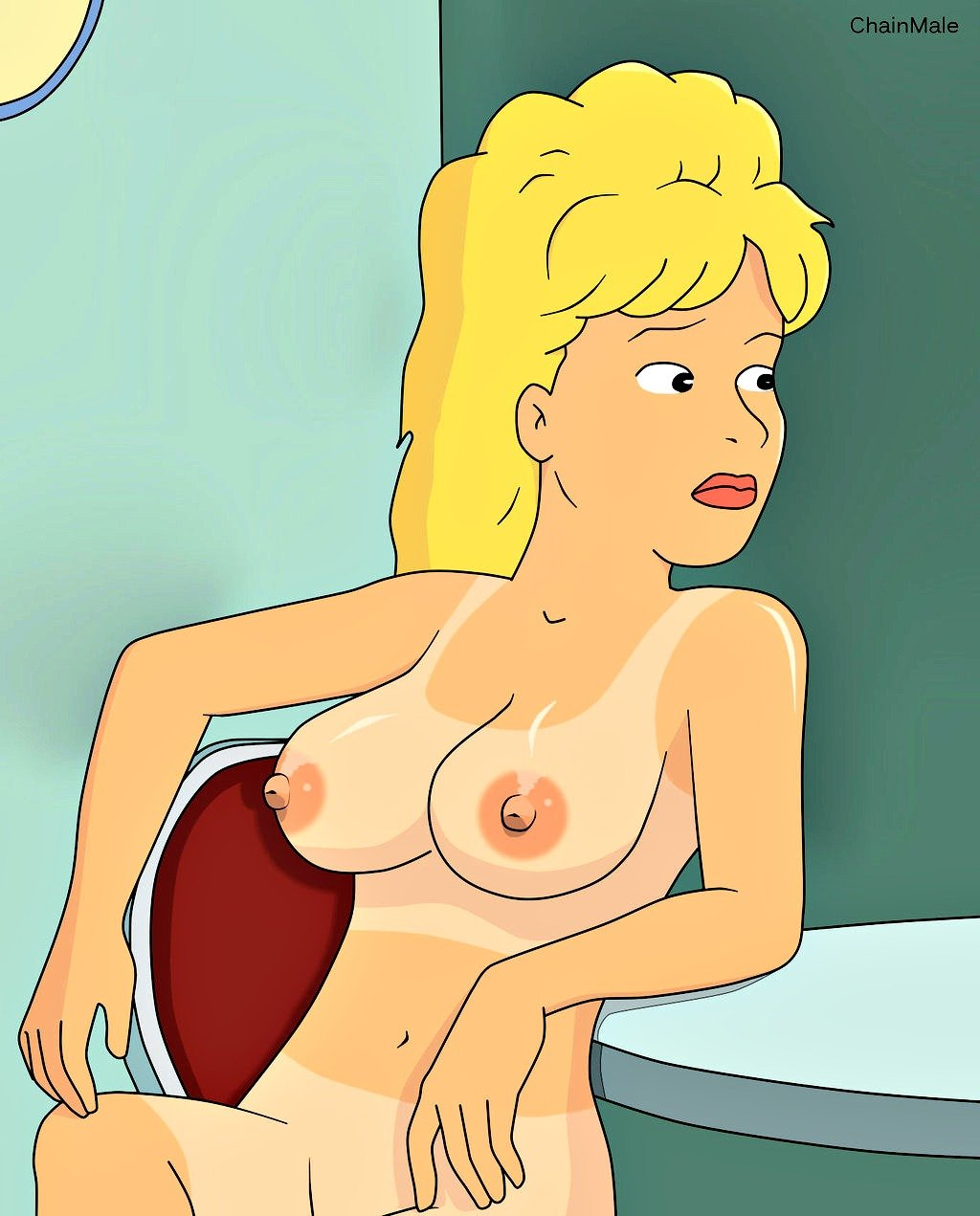 king of the hill nude girls