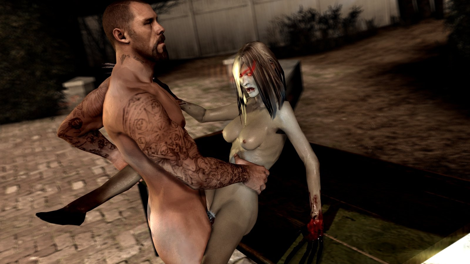 Left for dead porn video
