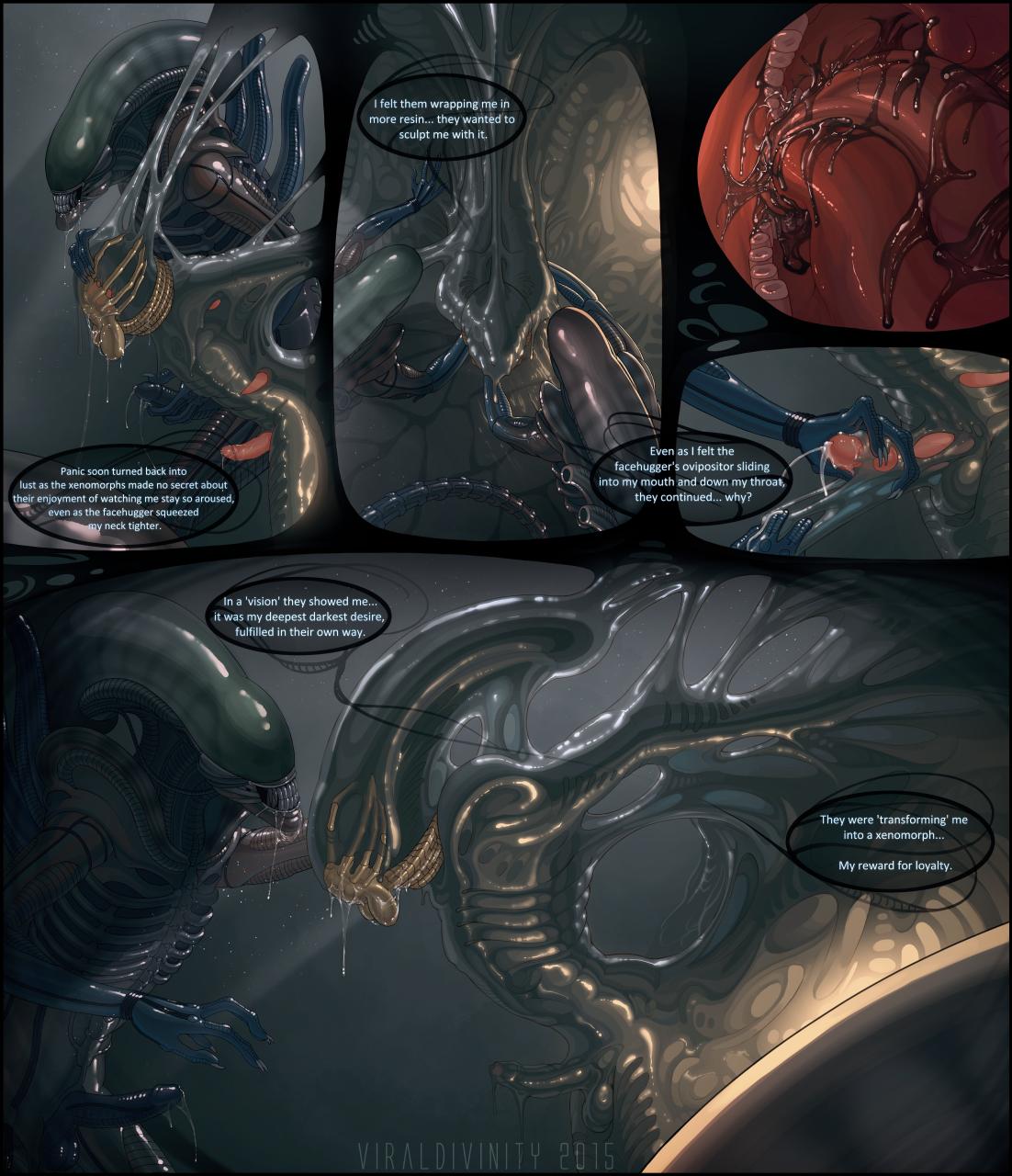 Alien Xenomorph Hentai