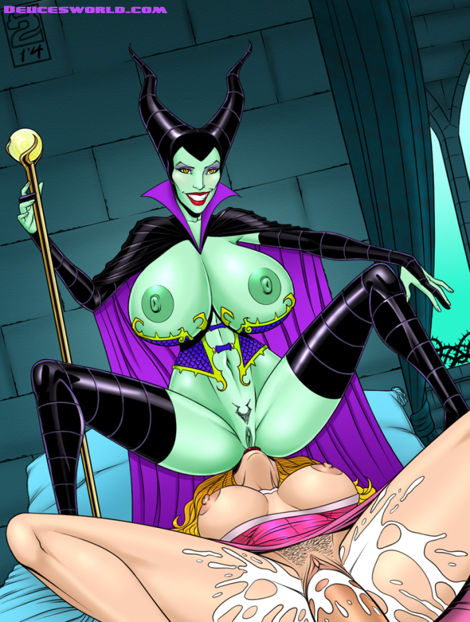 maleficent naked hentai