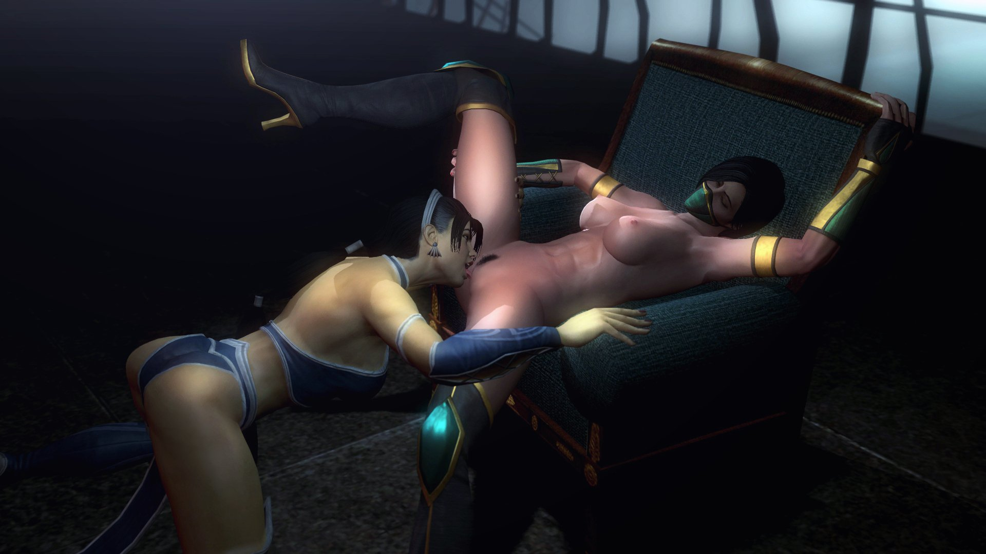 Mortal kombat jade and kitana leabian sex  erotica photo