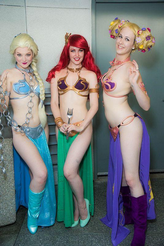 Disney girls nude cosplays