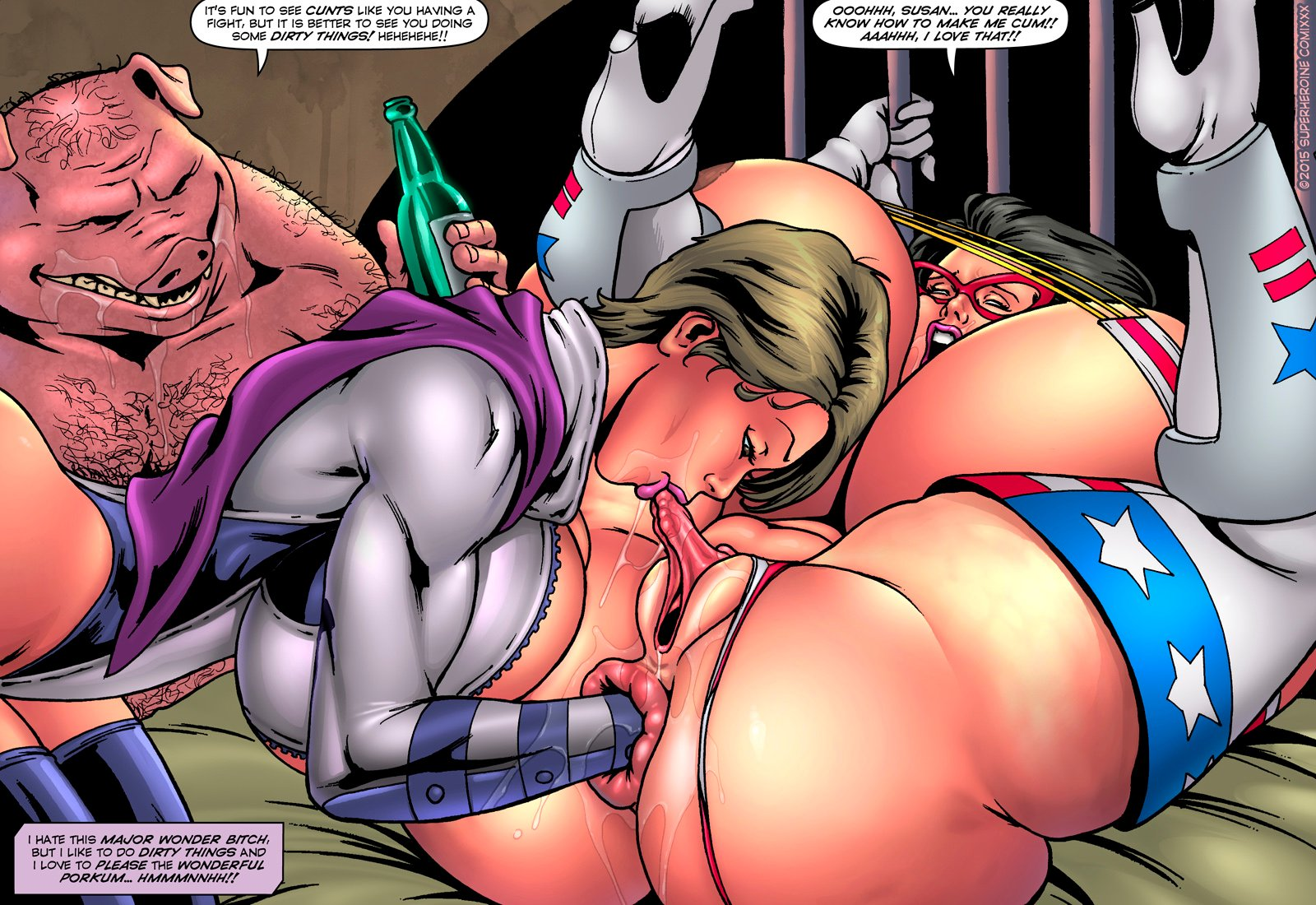 cartoon superhero sex