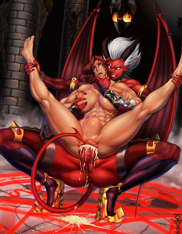 Дьяволица руками порно online