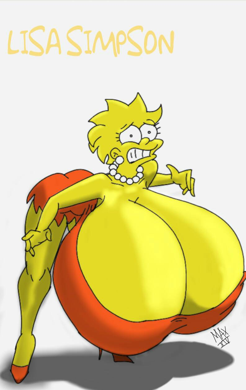 Breast big marge simpson