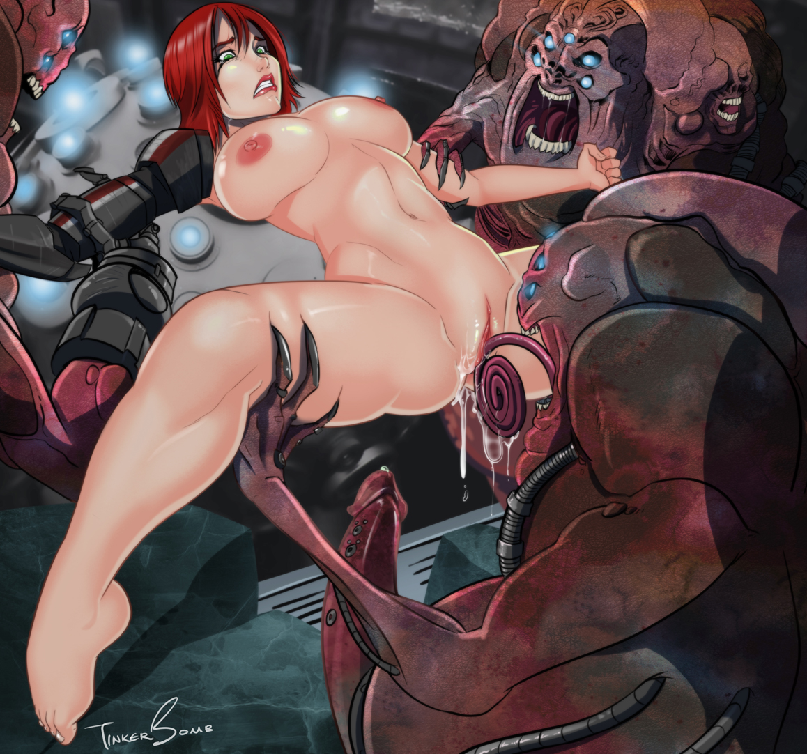 Girl shepard female hentai nsfw thumbs