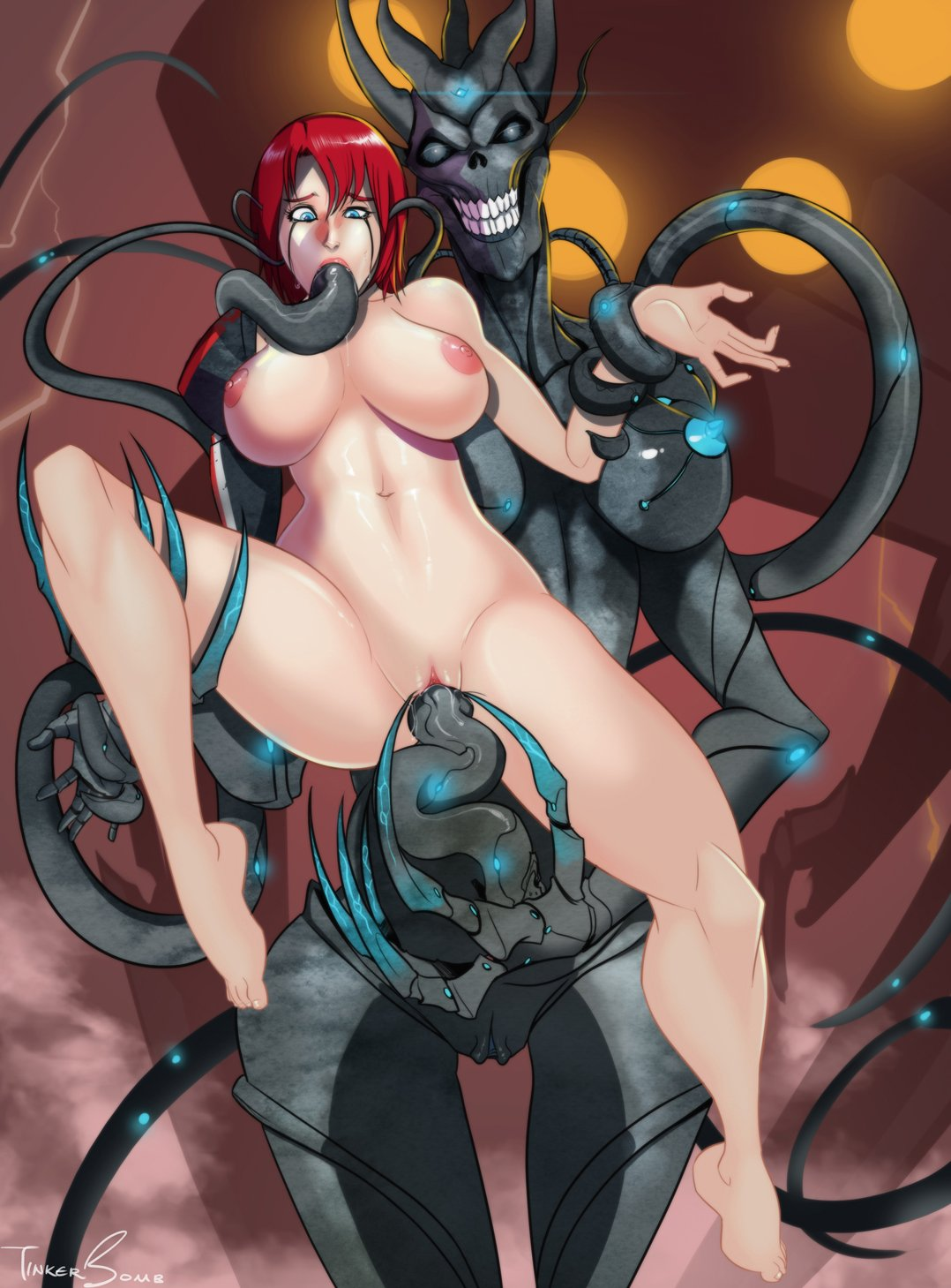 Mass effect tentacle monster porno videos xxx clip