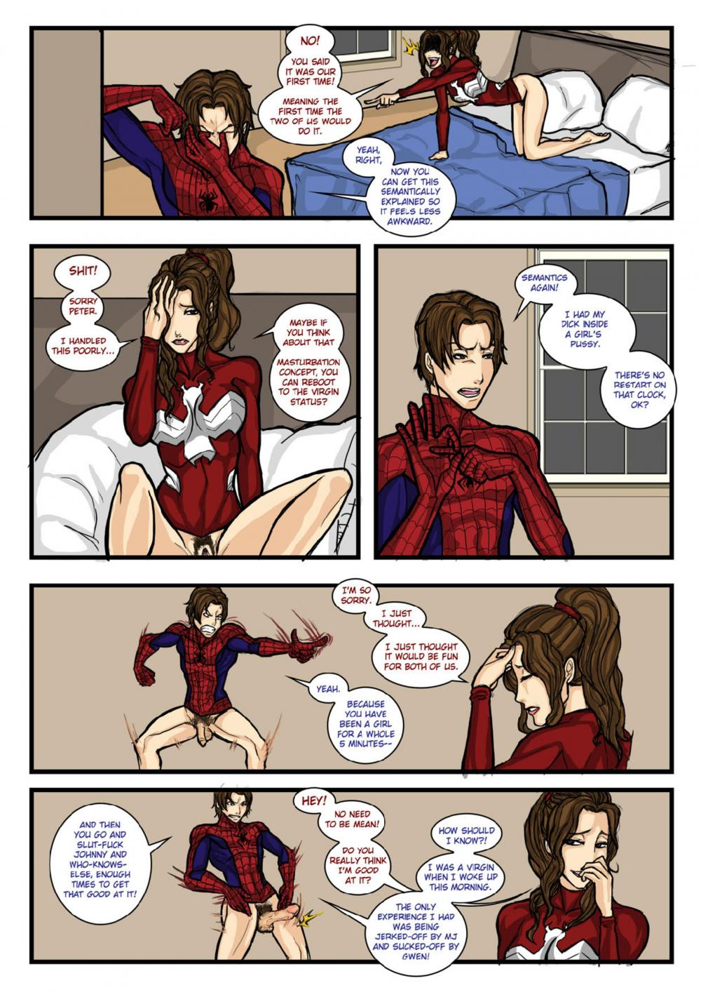 ultimate spider man girl nude at last