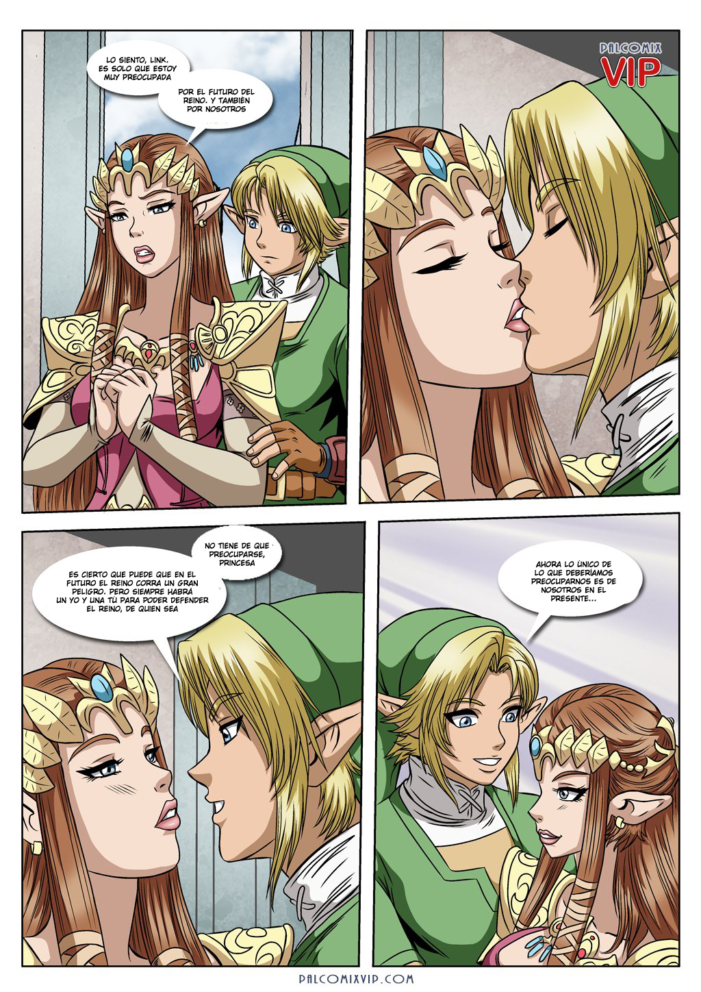 Comic hentai legend zelda