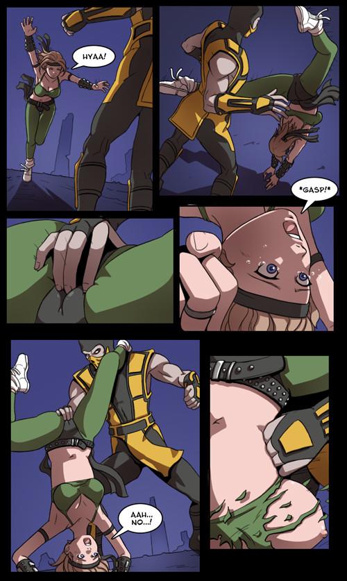 Mortal kombat sony blade vs kano 8