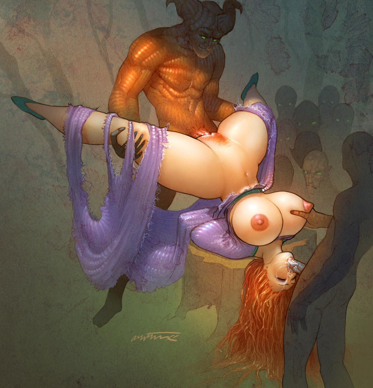 Порно картинки комиксы фэнтези