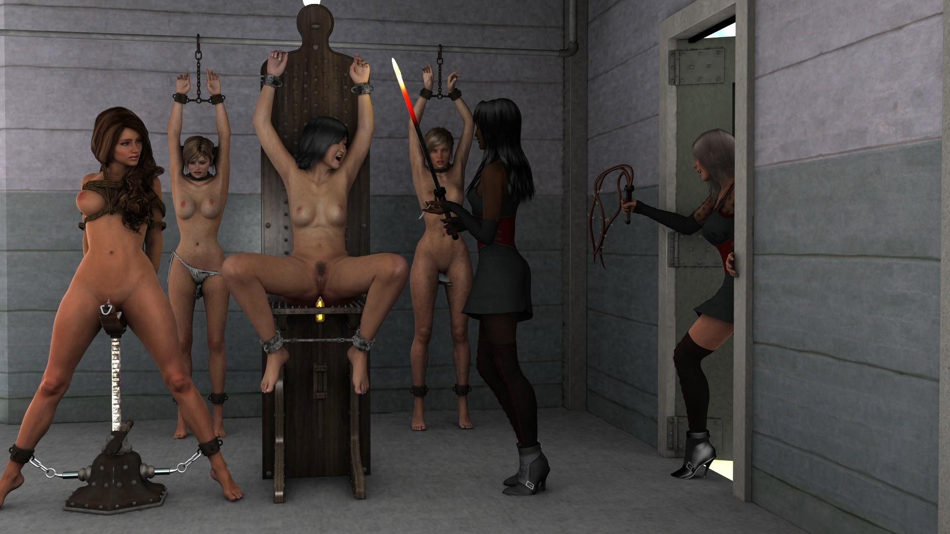 Молодые девушки стальной бондаж узниц средневековья видео домработница видео