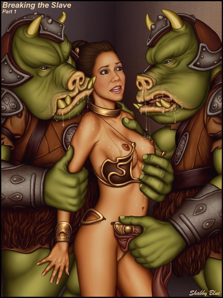 Wars slave sexy star leia